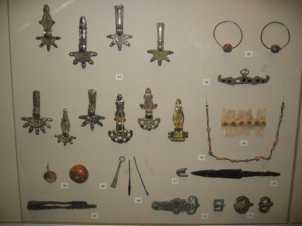 A selection of Frankish objects
